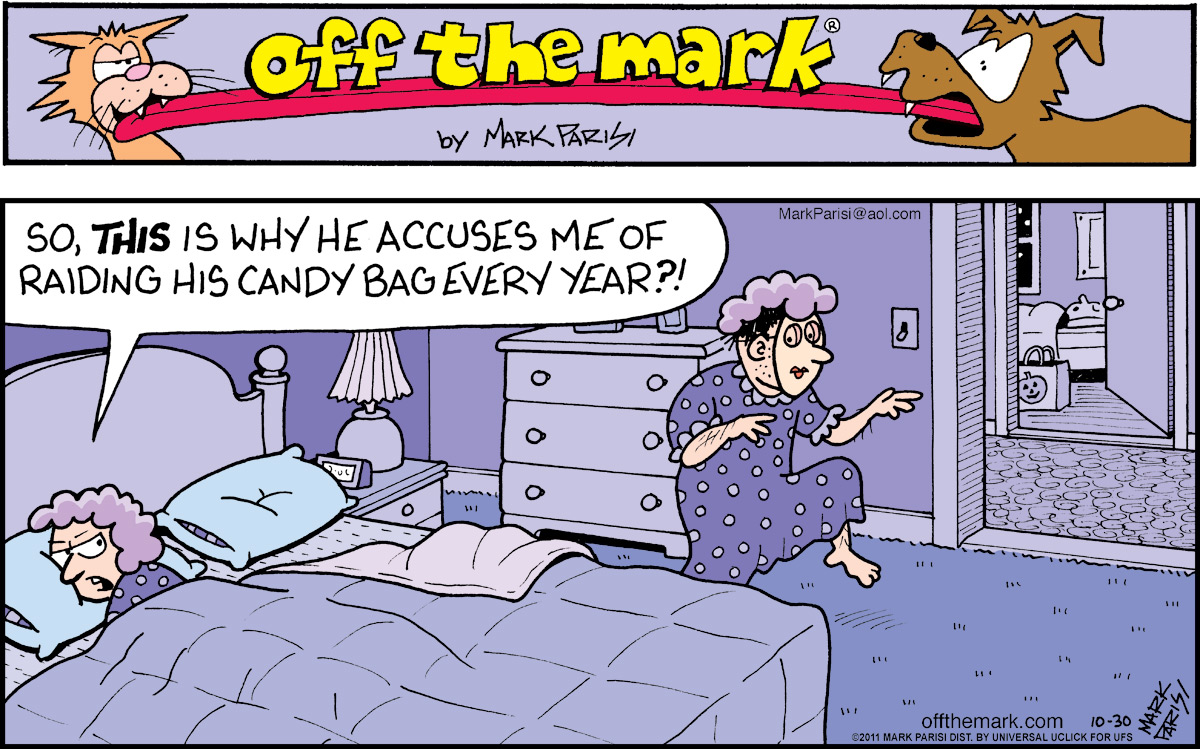 Off the Mark for Oct 30, 2011 Comic Strip