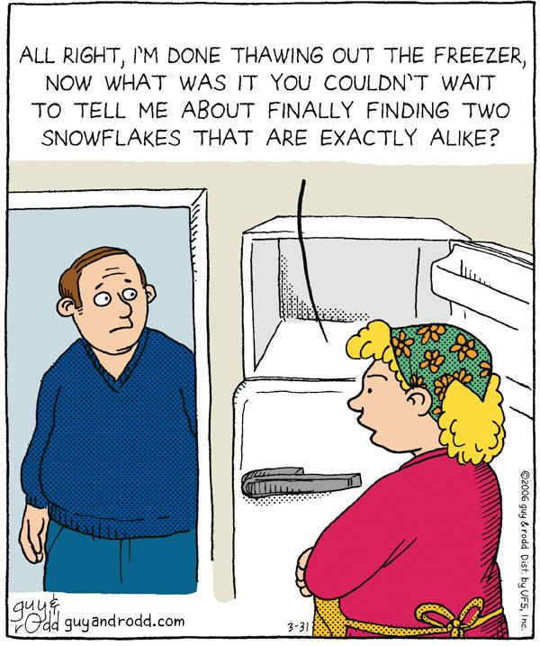Brevity for Mar 31, 2006 Comic Strip
