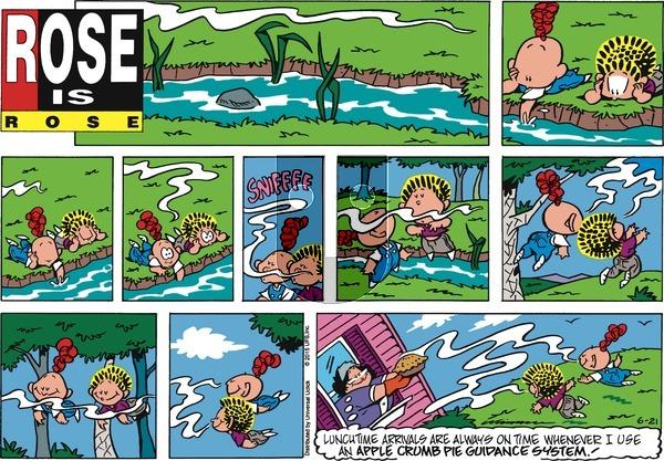 Rose is Rose - Sunday June 21, 2015 Comic Strip