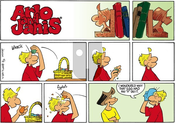 Arlo and Janis on Sunday April 8, 2007 Comic Strip