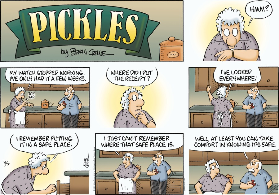 Pickles Comic Strip for March 07, 2021