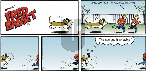 Fred Basset on Sunday November 22, 2020 Comic Strip