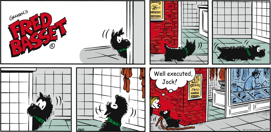 Fred Basset Comic Strip for October 20, 2013