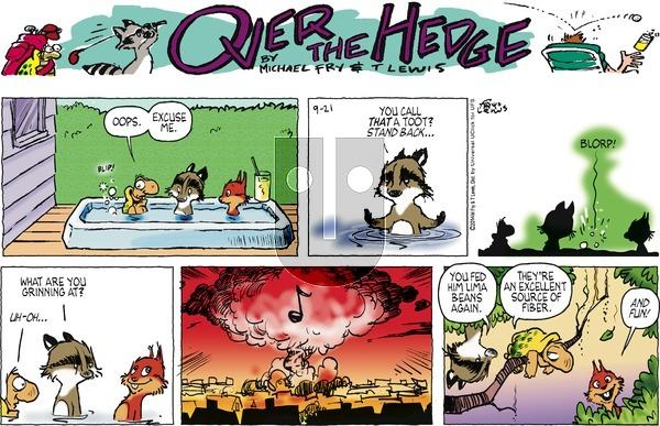 Over the Hedge on Sunday September 21, 2014 Comic Strip