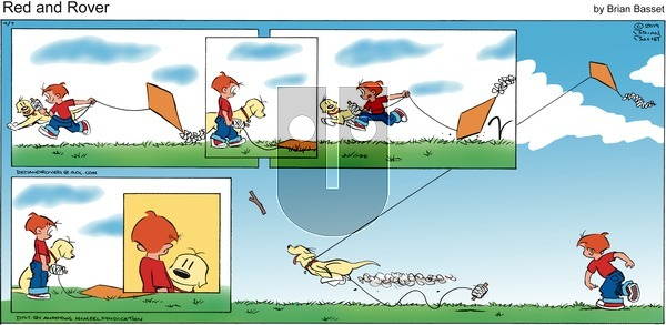Red and Rover on Sunday April 7, 2019 Comic Strip