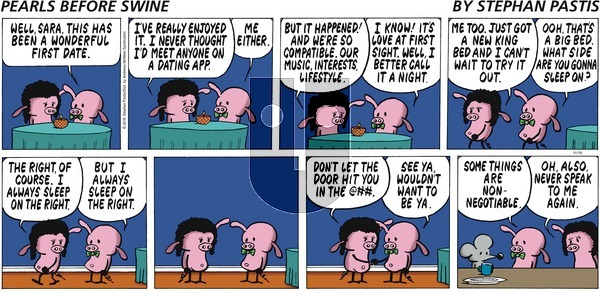 Pearls Before Swine on November 18, 2018 Comic Strip