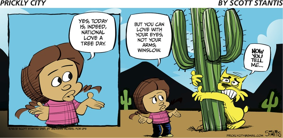 Prickly City Comic Strip for May 16, 2021