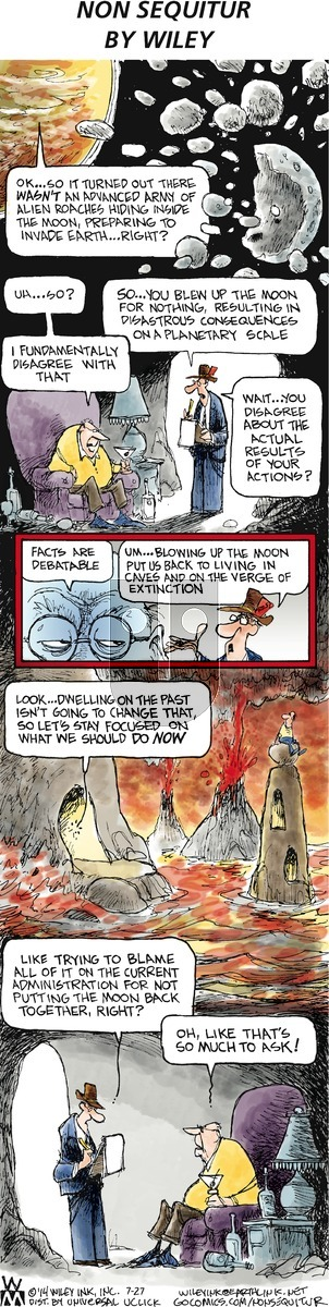 Non Sequitur on Sunday July 27, 2014 Comic Strip
