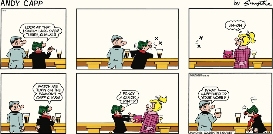 Andy Capp for Oct 15, 2017 Comic Strip