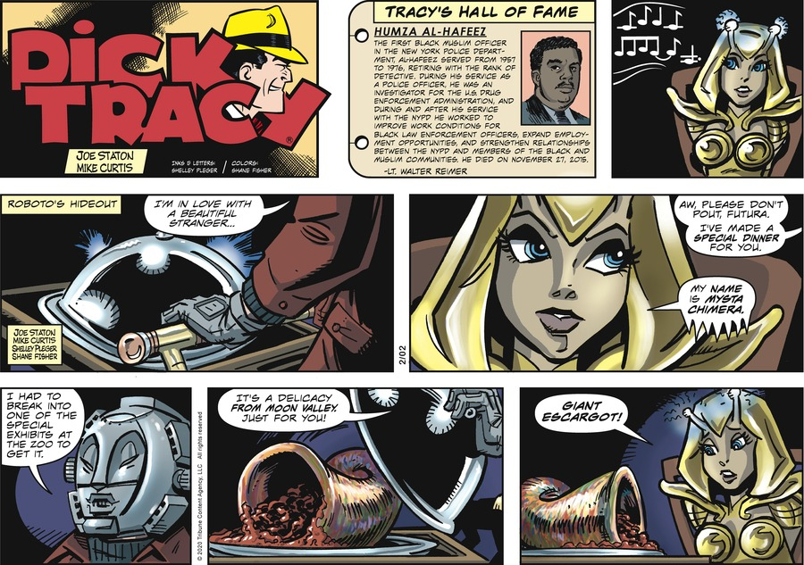 Dick Tracy Comic Strip for February 02, 2020