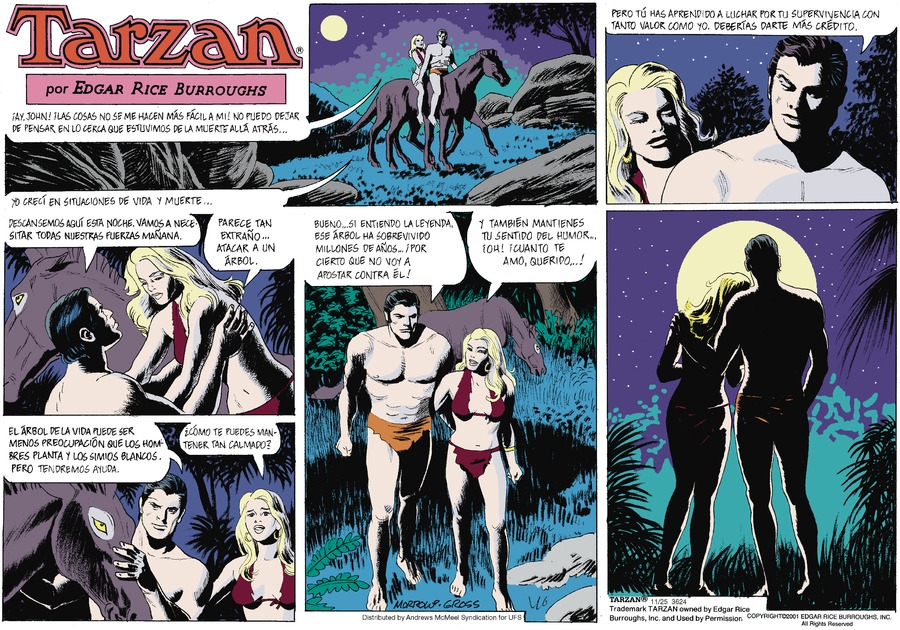 Tarzan en Español by Edgar Rice Burroughs for November 25, 2018