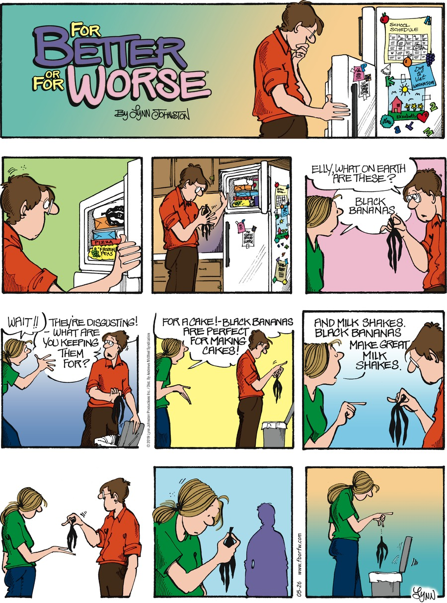 For Better or For Worse Comic Strip for May 26, 2019