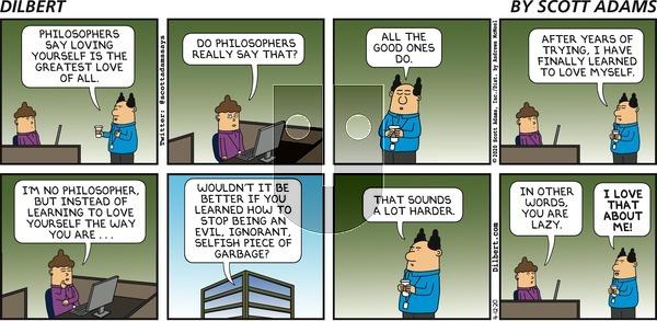 Dilbert on Sunday April 12, 2020 Comic Strip