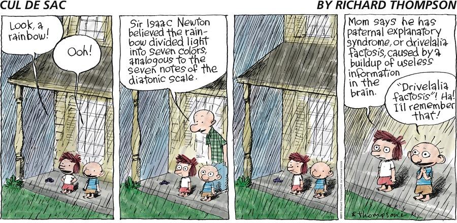 Cul de Sac Comic Strip for July 19, 2015