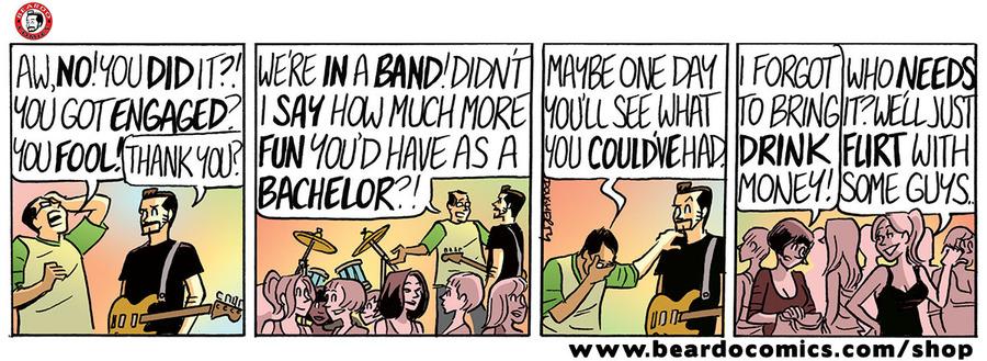 Beardo Comic Strip for November 22, 2019