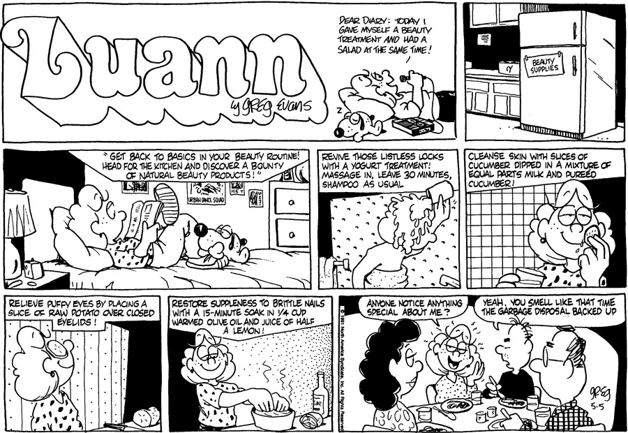 Luann Againn by Greg Evans for May 05, 2019