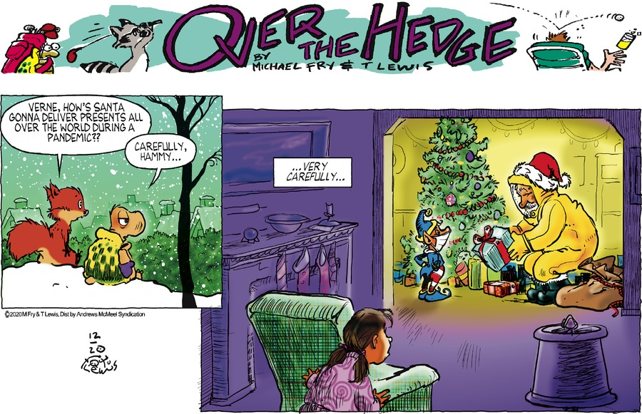 Over the Hedge Comic Strip for December 20, 2020