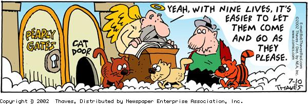 Frank and Ernest Comic Strip for July 10, 2002