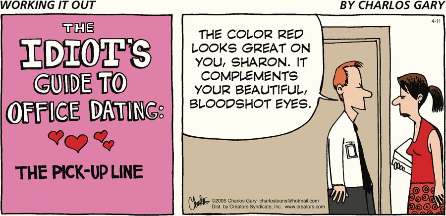 Working It Out Comic Strip for April 11, 2021