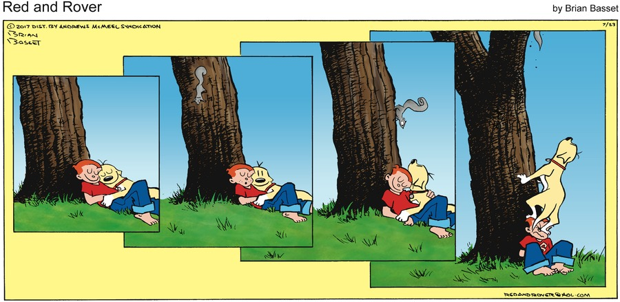 Red and Rover for Jul 23, 2017 Comic Strip