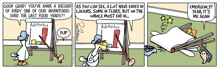 Ollie and Quentin Comic Strip for June 15, 2016