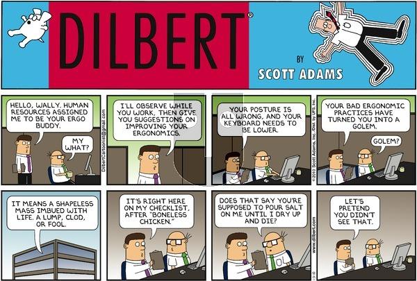 Dilbert on Sunday January 3, 2010 Comic Strip