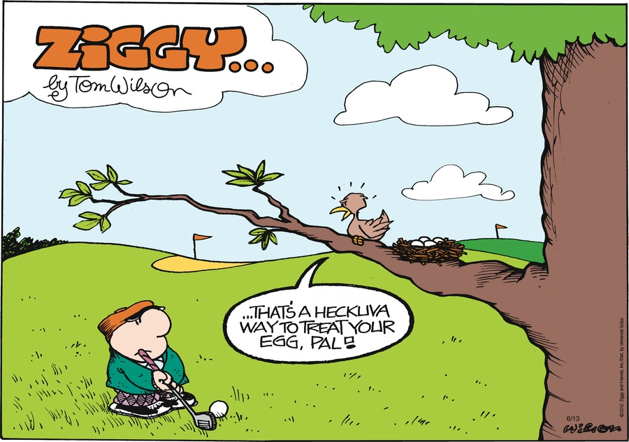 Ziggy Comic Strip for June 13, 2010