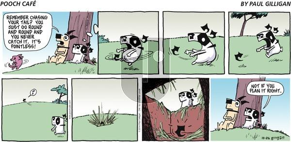 Pooch Cafe - Sunday October 26, 2014 Comic Strip