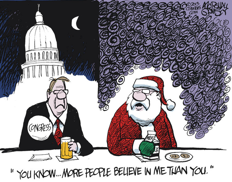 Marshall Ramsey Comic Strip for December 20, 2013