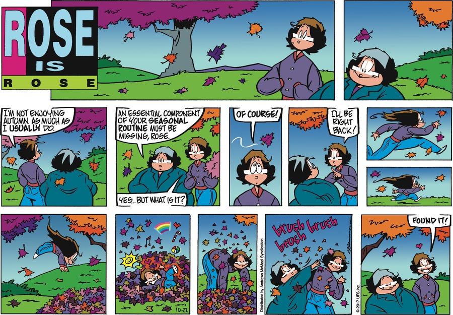 Rose is Rose for Oct 22, 2017 Comic Strip