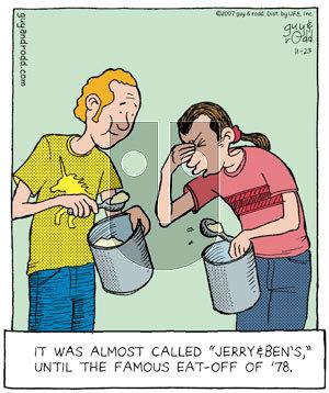 Brevity on Friday November 23, 2007 Comic Strip