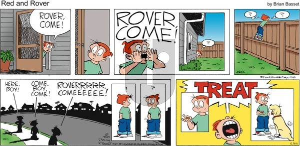 Red and Rover on Sunday June 20, 2021 Comic Strip