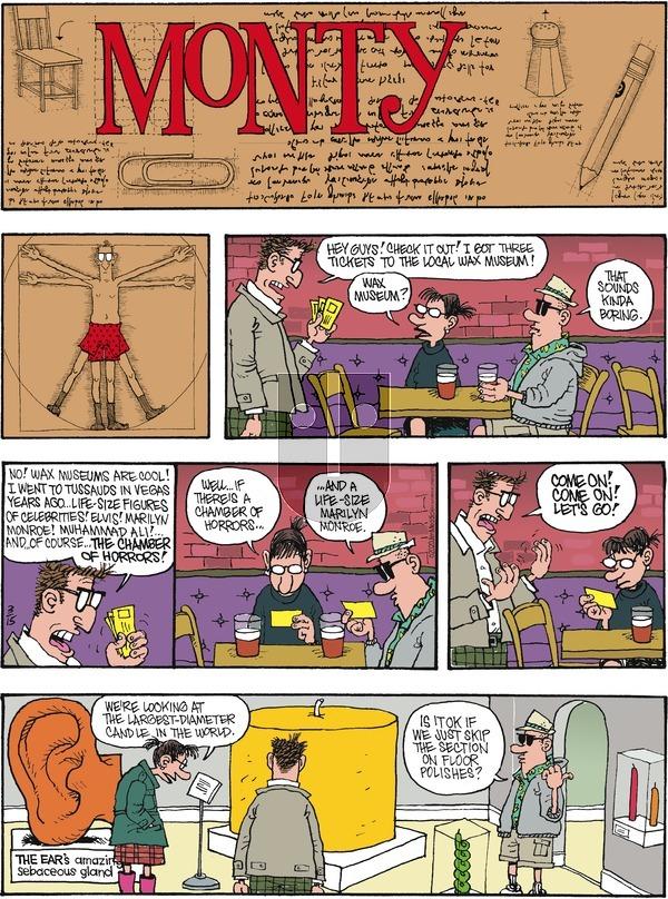 Monty - Sunday March 15, 2020 Comic Strip