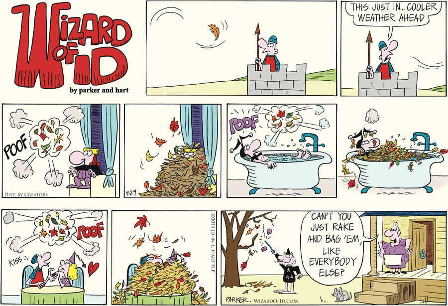 Wizard of Id for Sep 29, 2013 Comic Strip