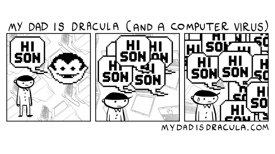 My Dad is Dracula Comic Strip for June 20, 2021