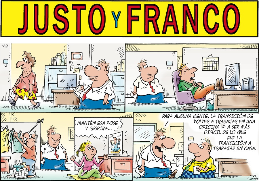 Justo y Franco by Thaves on Sun, 25 Apr 2021