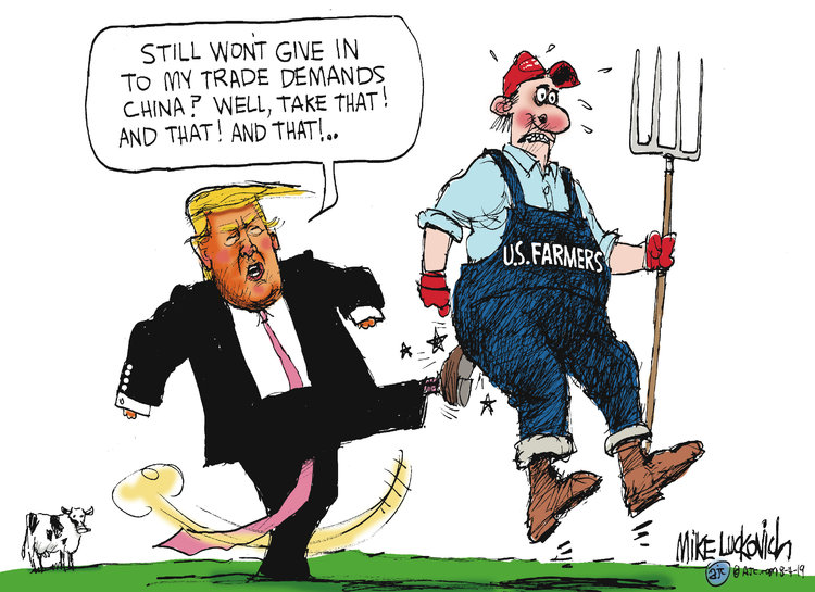 Mike Luckovich Comic Strip for August 04, 2019