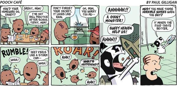 Pooch Cafe - Sunday March 25, 2012 Comic Strip