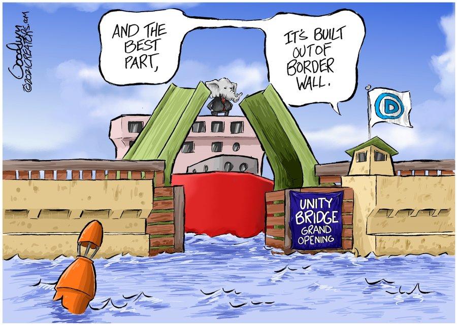 Al Goodwyn Editorial Cartoons Comic Strip for January 27, 2021