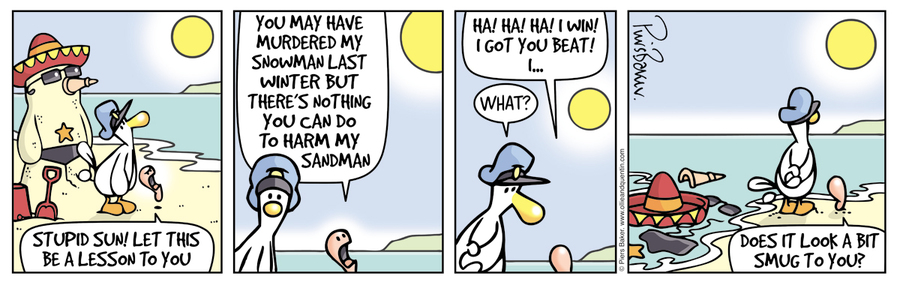 Ollie and Quentin Comic Strip for June 14, 2016