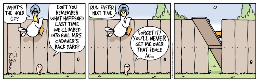 Ollie and Quentin Comic Strip for September 11, 2019