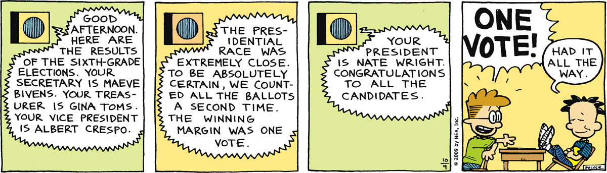 Big Nate Comic Strip for October 09, 2009