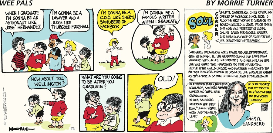 Wee Pals Comic Strip for July 21, 2013