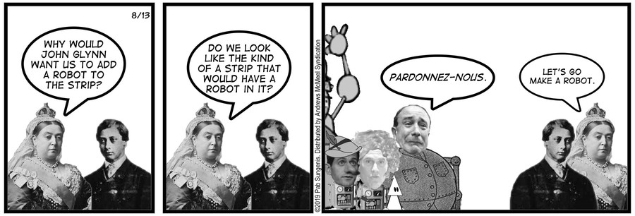New Adventures of Queen Victoria Comic Strip for August 13, 2019