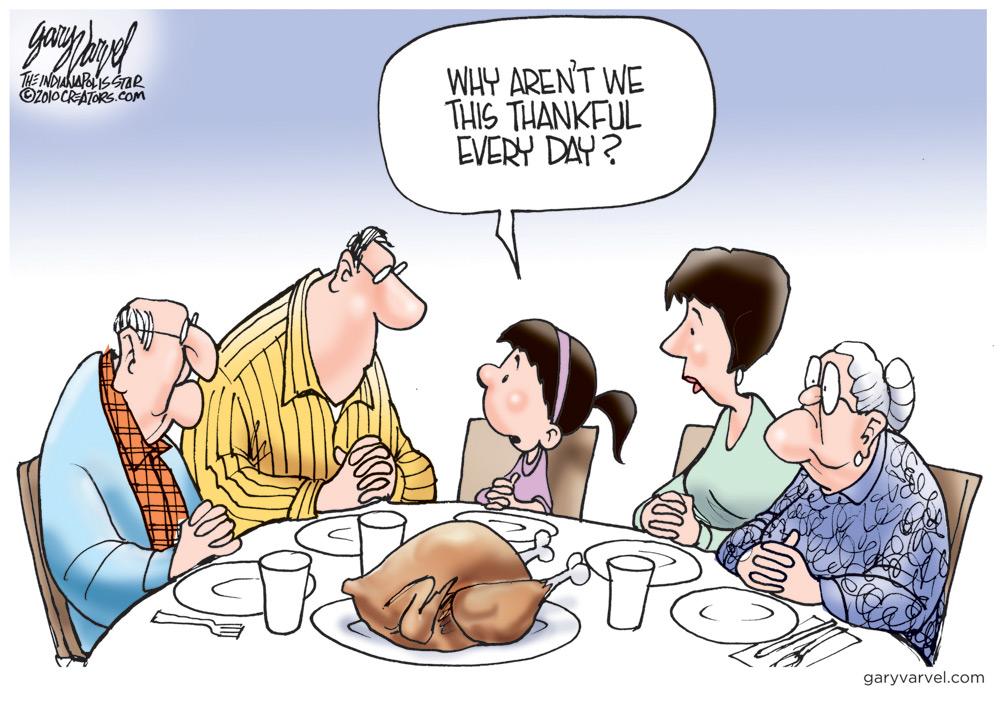 Gary Varvel Comic Strip for November 24, 2011