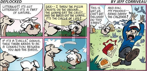 DeFlocked on Sunday September 8, 2019 Comic Strip