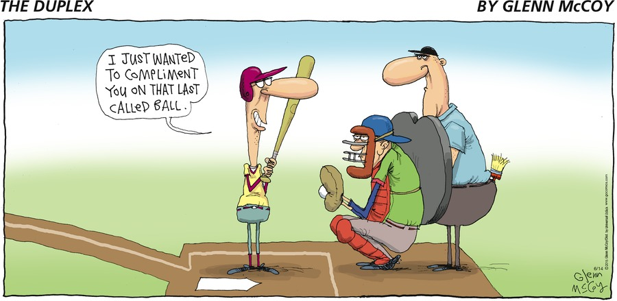 The Duplex Comic Strip for June 14, 2015