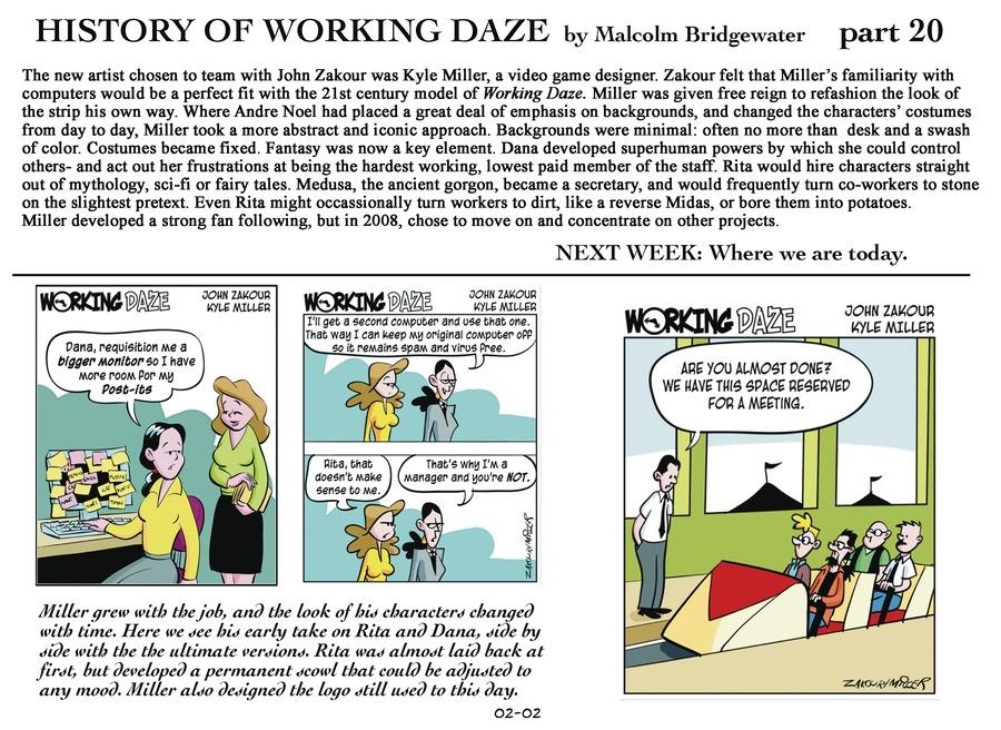 Working Daze Comic Strip for February 02, 2014