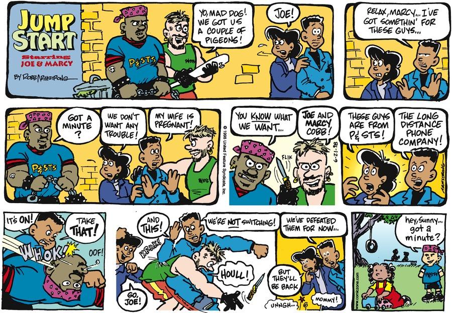 JumpStart for Jun 21, 1998 Comic Strip