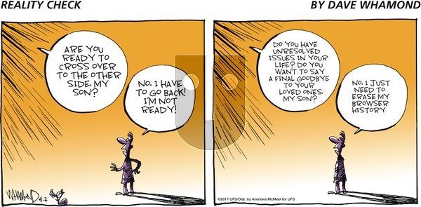 Reality Check - Sunday April 2, 2017 Comic Strip